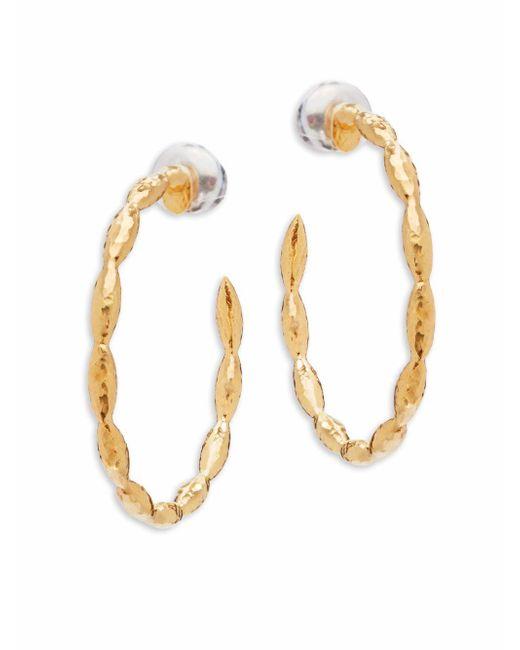 Gurhan - Metallic Wheat Sterling Silver Hoop Earrings/1.17?? - Lyst