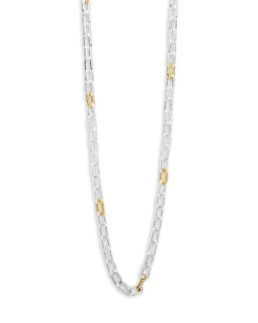 Gurhan - Metallic Amulet 24k Gold-plated & Sterling Silver Chain-link Necklace- 36in - Lyst
