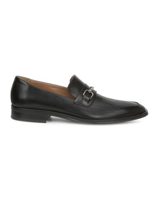 Bruno Magli - Black Nardo Leather Loafers for Men - Lyst