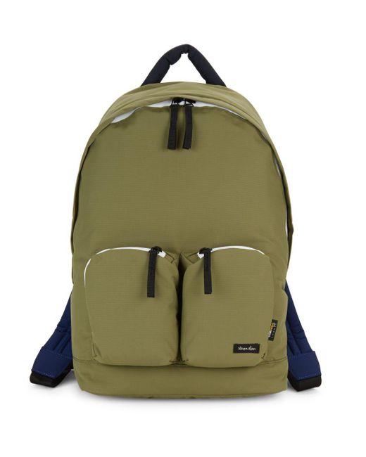 Steven Alan - Green Zippered Backpack - Lyst