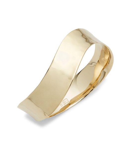 Robert Lee Morris | Metallic Wavy Bangle Bracelet | Lyst