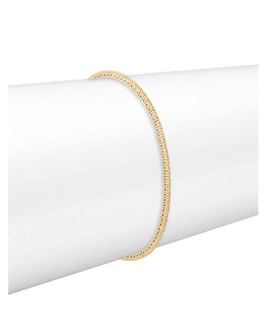 Kwiat - Metallic Riviera Yellow Sapphire & 18k Yellow Gold Bracelet - Lyst