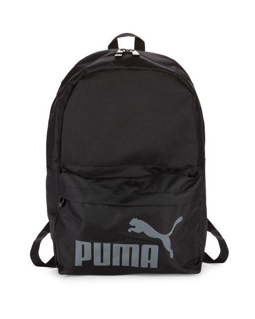 PUMA - Black Evercat Lifeline Backpack for Men - Lyst