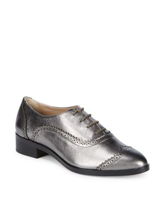 Saks Fifth Avenue - Multicolor Brody Leather Wingtip Oxfords for Men - Lyst