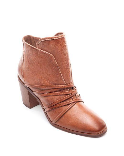 Bernardo - Brown Felicity Leather Booties - Lyst