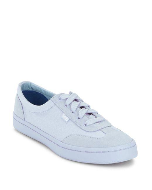 Keds | Blue Tournament Mono Sneakers | Lyst