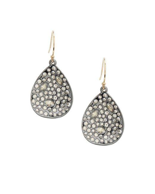 Alexis Bittar - Metallic Miss Havisham Swarovski Crystal Drop Earrings - Lyst