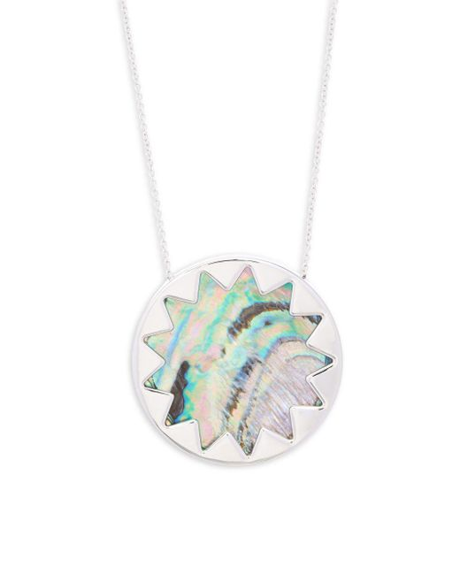 House of Harlow 1960 | Metallic Abalone Pendant Necklace | Lyst