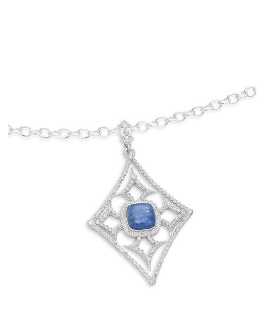 Armenta - Metallic Diamond & Kyanite/quartz Doublet Enhancer Pendant Necklace - Lyst
