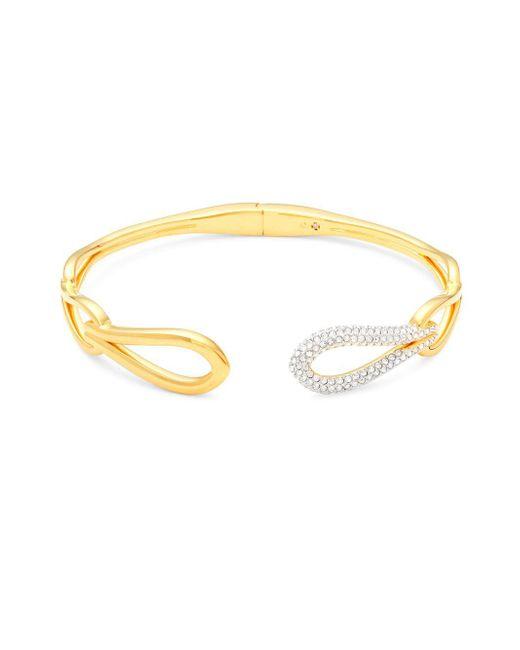 Adriana Orsini - Metallic Link Hinge Bracelet - Lyst