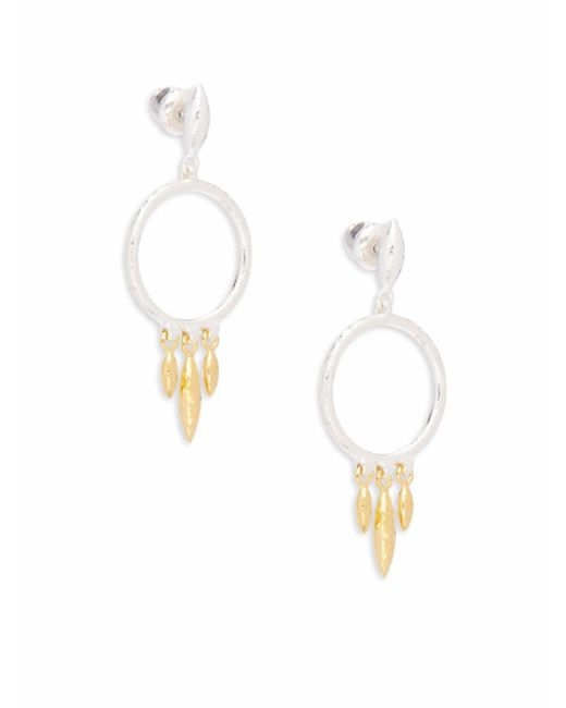 Gurhan - Metallic 24k Yellow Gold-plated Drop Earrings - Lyst