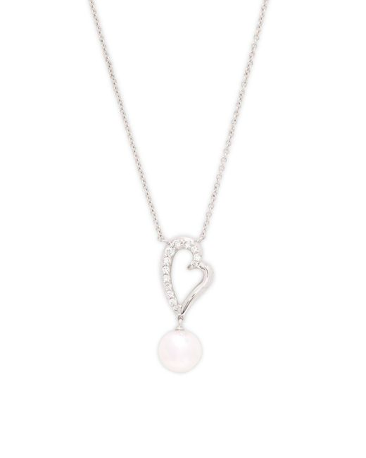 Tara Pearls - White Pearl Pendant Necklace - Lyst