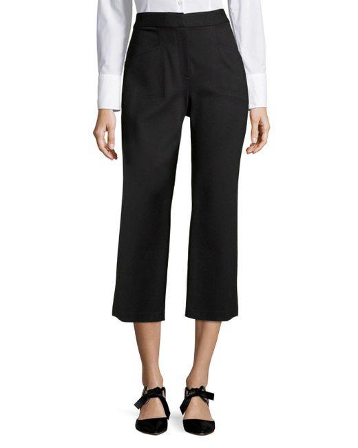 T Tahari - Black Naima High-rise Trousers - Lyst