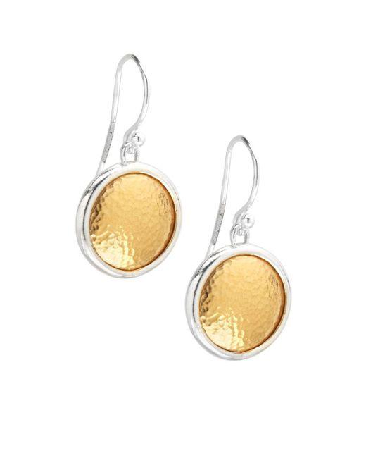 Gurhan   Metallic 24k Gold Vermeil Earrings   Lyst