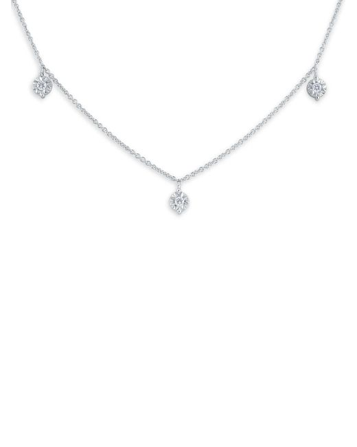 KC Designs - Metallic 14k White Gold & Diamond Pendant Necklace - Lyst