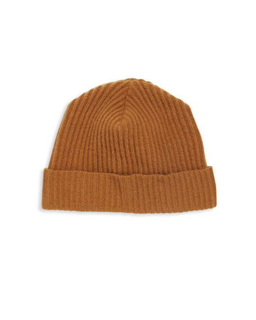 Portolano | Brown Cashmere Solid Hat | Lyst