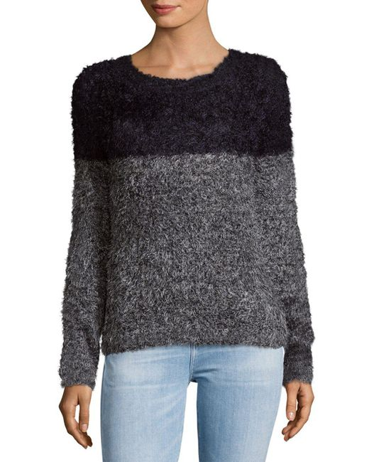 Saks Fifth Avenue   Gray Chic Knit Sweater   Lyst