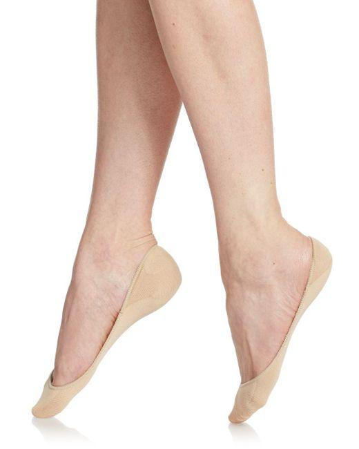Hue - Natural Ultra-low Liner Socks Set - Lyst
