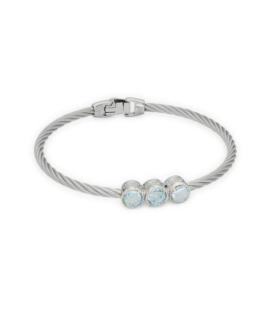 Alor - Multicolor Blue Topaz & 18k White Gold Bracelet - Lyst