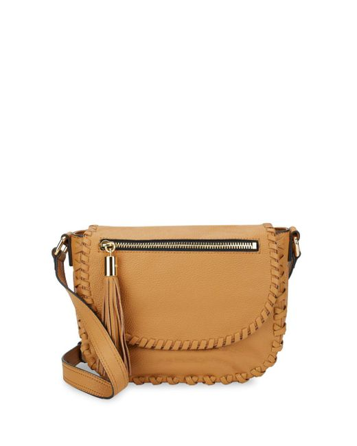 MILLY - Multicolor Woven Leather Shoulder Bag - Lyst