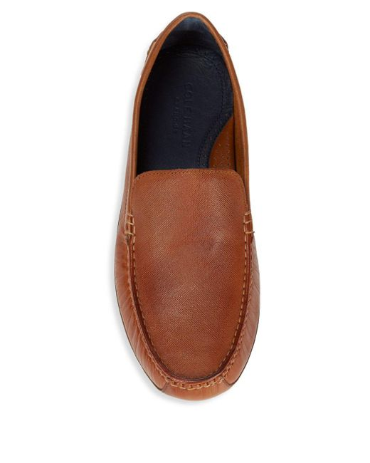 7cef18c0d Cole Haan Coburn Leather Driving Loafers in Brown for Men - Save 13 ...