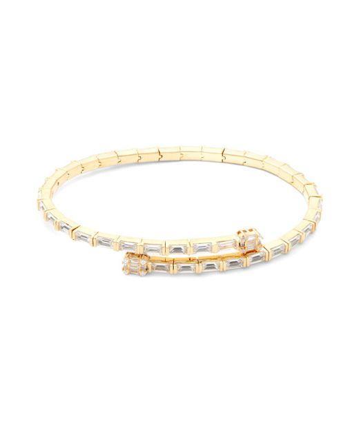 Pure Navy - Metallic Slim Pavé Bracelet - Lyst