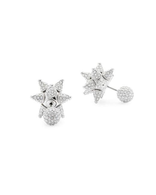 Swarovski - Metallic Crystal Double-sided Earrings - Lyst