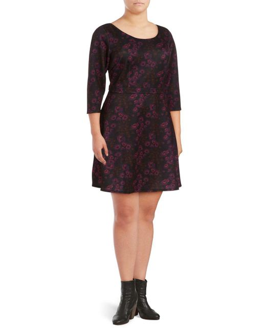 Alexia Admor - Multicolor Floral Fit-&-flare Dress - Lyst