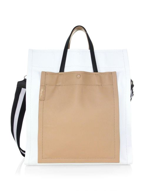 3.1 Phillip Lim - Natural Leather Accordion Tote Bag - Lyst