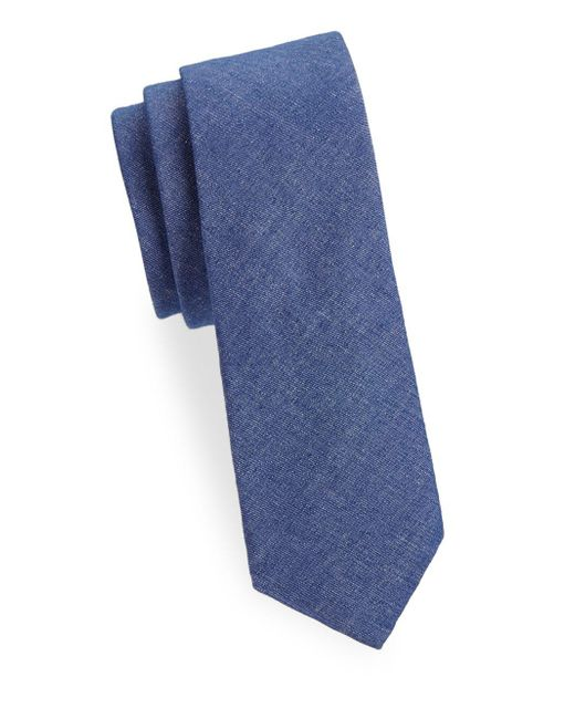 Joe's Collection - Blue Classic Slim Tie for Men - Lyst