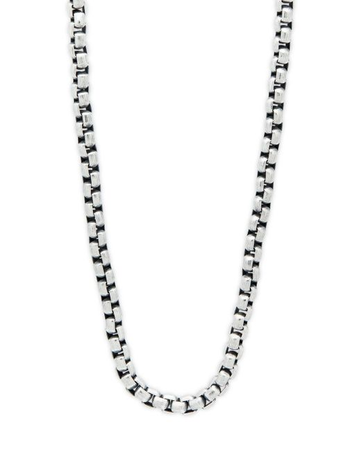 "Perepaix - Metallic Stainless Steel Wide Chain Necklace/20"" - Lyst"