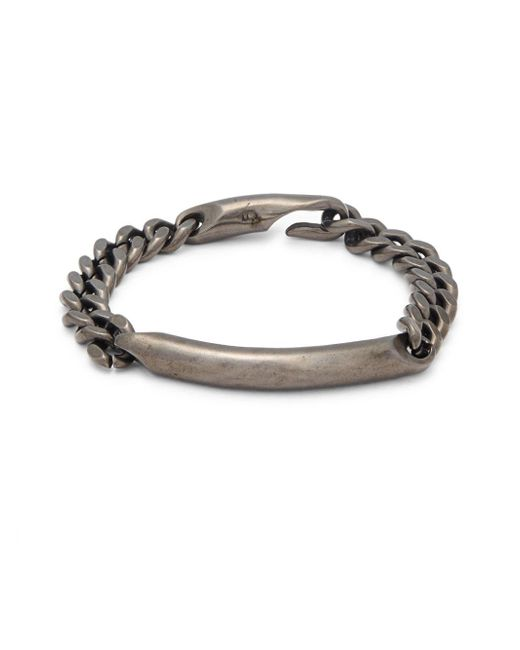 Giles & Brother   Metallic Id Chain Bracelet   Lyst