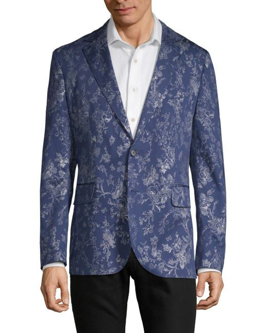 Robert Graham - Blue Floral Sport Coat for Men - Lyst