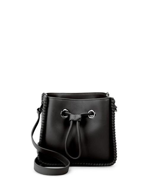 3.1 Phillip Lim - Black Soleil Mini Leather Bucket Bag - Lyst