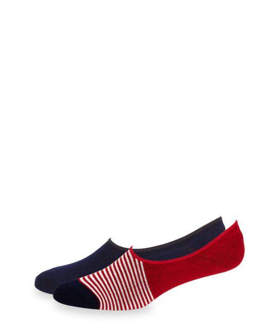 Saks Fifth Avenue - Blue Two-pair Liner Sock Set - Lyst