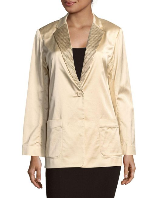 Marc By Marc Jacobs - Natural Washed Satin Jacket - Lyst