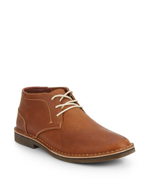 Kenneth Cole | Brown Desert Leather Chukka Boots for Men | Lyst