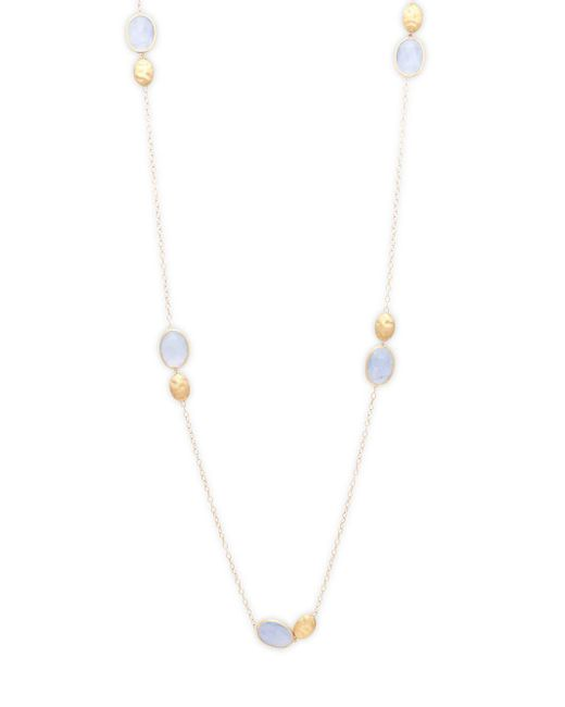 Marco Bicego - 18k Yellow Gold & Chalcedony Necklace - Lyst