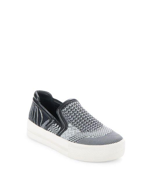 Ash - Black Jeday Slip-on Platform Sneakers - Lyst