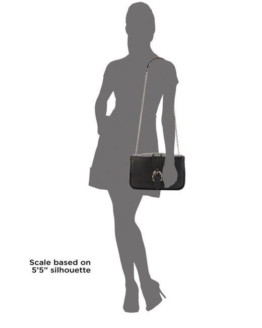 ... Longchamp - Black Classic Leather Crossbody Bag - Lyst ... 419f4ba8f178c