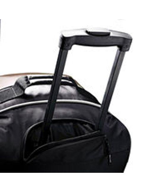 Samsonite Andante 22\u0026quot; Wheeled Duffle in Gray for Men (Black/Grey ...
