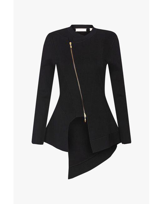 Sass & Bide - Black Night Bloomer Knit Jacket - Lyst