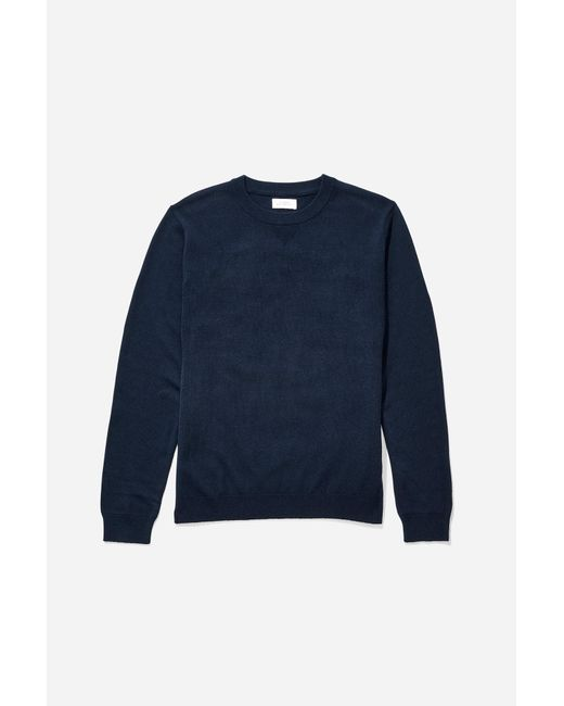 Saturdays NYC - Blue Everyday Classic Sweater for Men - Lyst