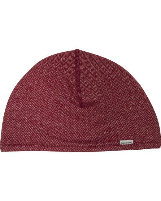 Saucony | Red Brisk Skull Cap for Men | Lyst