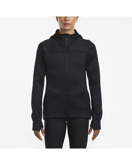 Saucony - Black Life On The Run Hoodie - Lyst