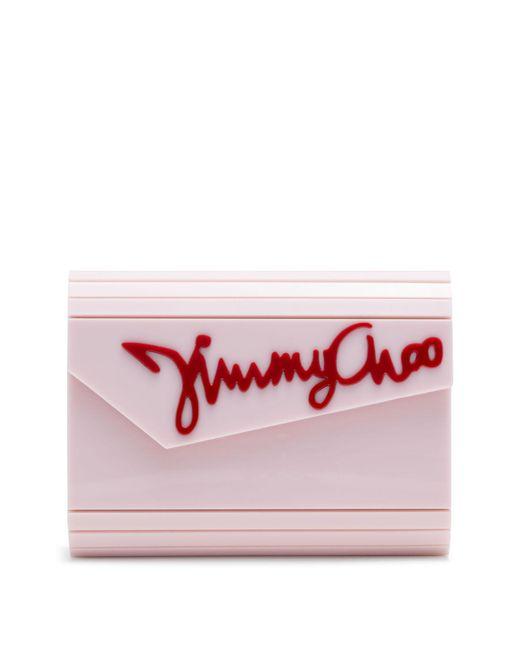 Jimmy Choo - Pink Candy Clutch - Lyst