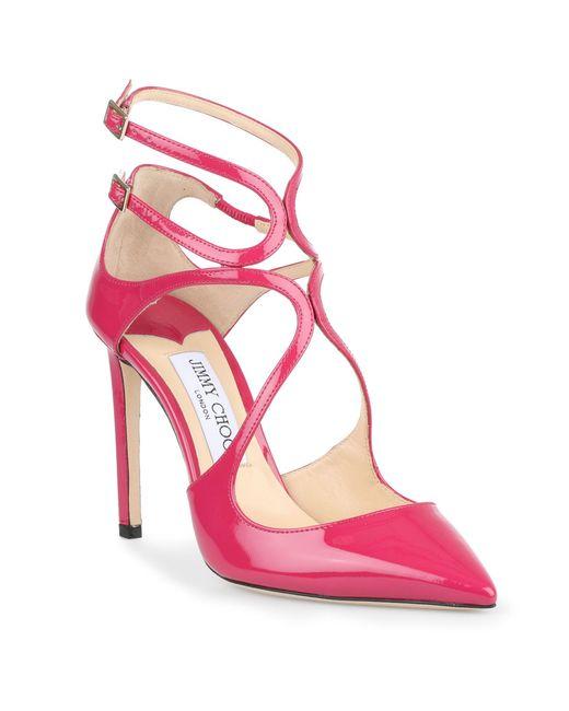 Cerise Court Shoes