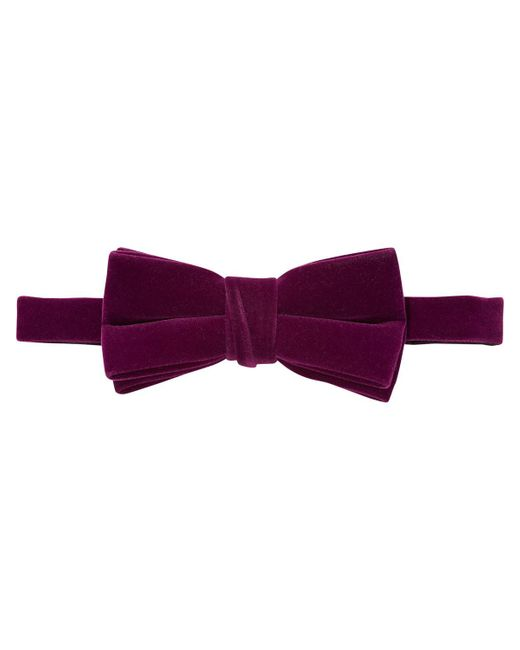 Scotch & Soda | Purple Velvet Bow Tie for Men | Lyst