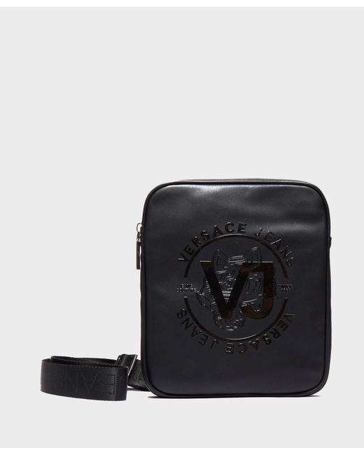 Versace Jeans - Black Tiger Print Small Item Bag for Men - Lyst ... 90ed4e2d9d373