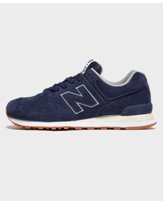 5a4b3122e3ce4 New Balance - Blue 574 for Men - Lyst ...